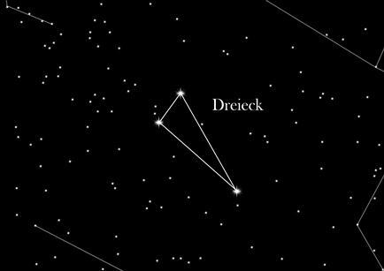 Sternbild Dreieck