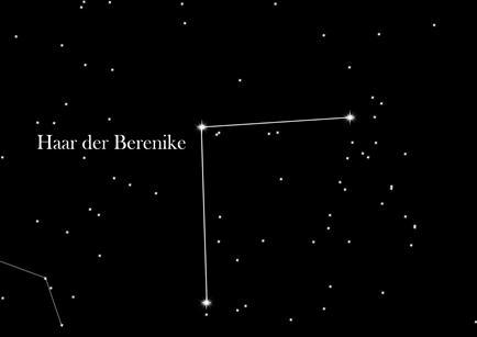 Sternbild Haar der Berenike
