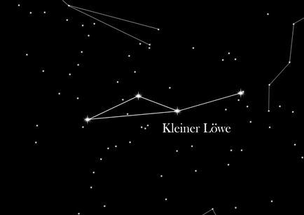 Sternbild Kleiner Löwe